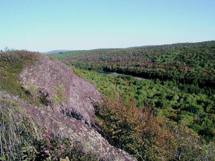 James H. Klipfel Memorial Nature Sanctuary at Brockway Mountain